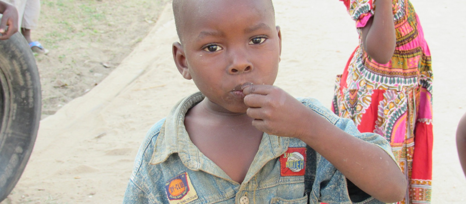 child in Tanzania