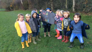 Wardour Pupils Walk for Chalk